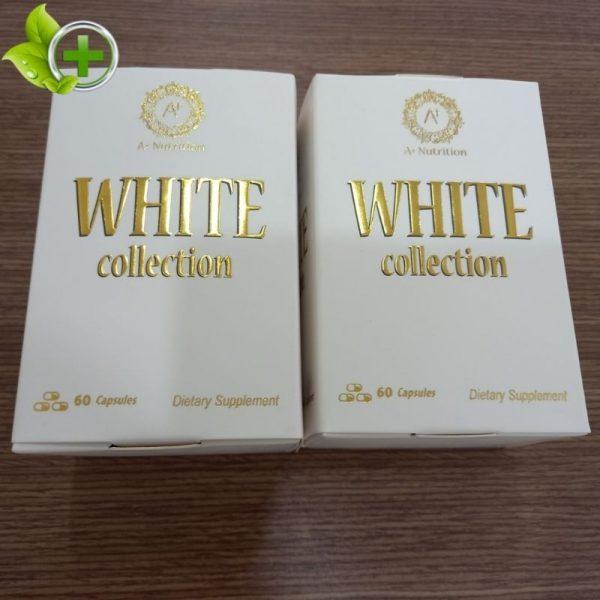 Viên uống White Collection giá bao nhiêu?