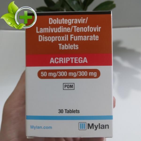 thuốc dolutegravir 50mg bao nhiêu tiền