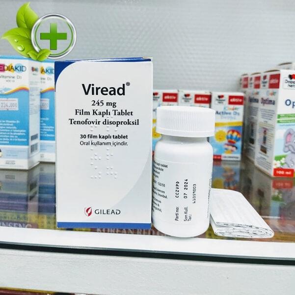 Thuốc Viread 245mg có tốt không