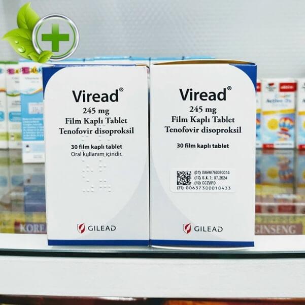 Thuốc Viread 245mg giá bao nhiêu
