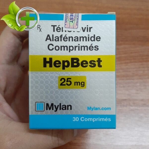 thuốc tenofovir 25mg giá bao nhiêu